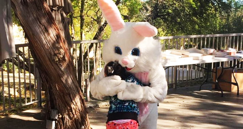 easter bunny for hire austin tx