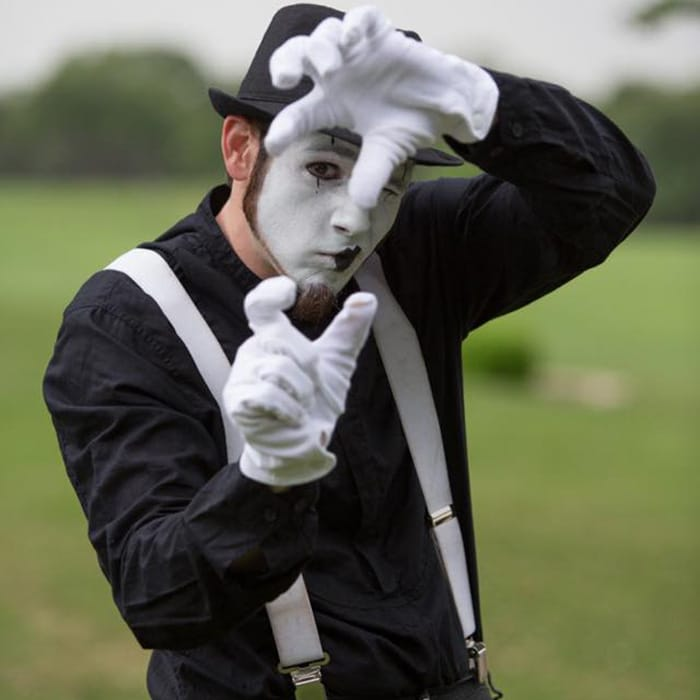 mime performers austin, tx