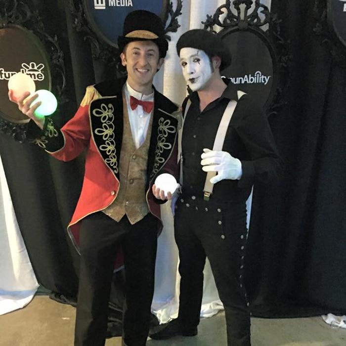 mime performers austin, tx