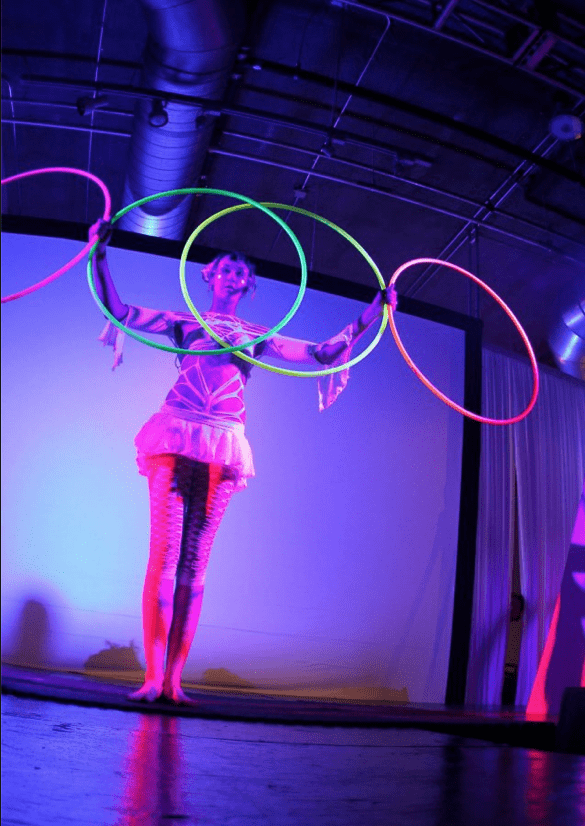 hoola hoop performers, austin, tx